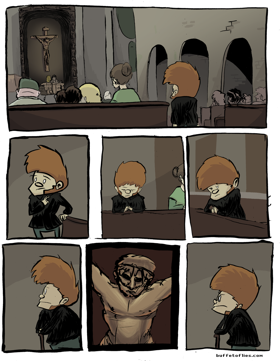 Today's comic is about Catholic Guilt
